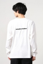2021 S/S NUMBER (N)INE number (n)ine_LONG SLEEVE T-SHIRT