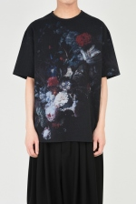 2019 S/S LAD MUSICIAN 14/1 T-CLOTH FLOWER BIG T-SHIRT