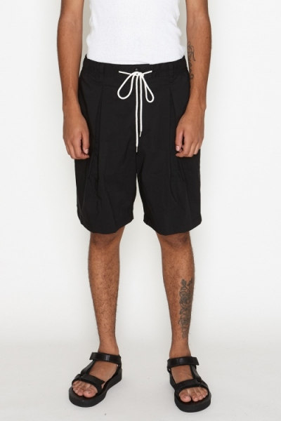 2019 S/S NUMBER (N)INE BOX TUCK WIDE SHORTS