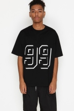 2019 S/S NUMBER (N)INE 99_FOOTBALL T-SHIRT
