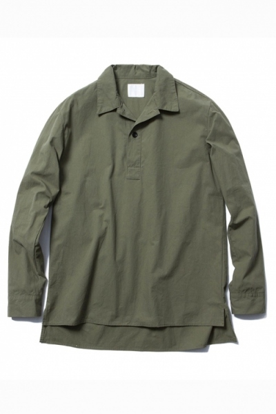 2018 S/S BLANCK C/C UTILITY PULLOVER SHIRT
