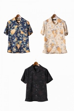 2018 S/S LOUNGE LIZARD COTTON×RAYON ALOHA SHIRT