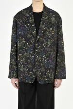 2021 S/S LAD MUSICIAN SMALL FLOWER UNCONSTRUCTED 2B JACKET