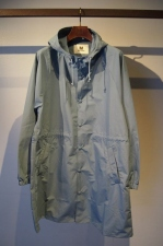 2018 S/S M hoodie raincoat blue gray