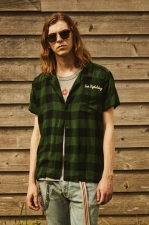 2019 S/S TMT ORIGINAL RAYON BUFFALO CHECK S/SL SHIRTS