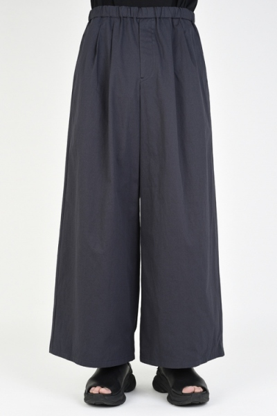 2020 S/S LAD MUSICIAN 60 HIGH COUNT TWILL 2TUCK WIDE ANKLE PANTS