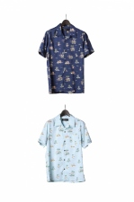 2018 S/S LOUNGE LIZARD COTTON RAYON LAWN ALOHA SHIRT