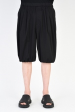 2019 S/S LAD MUSICIAN HIGH COUNT TWILL 3TUCK BALLOON SHORTS