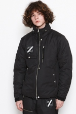 2017 A/W NUMBER (N)INE INSULATION ZIPU UP BLOUSON _EMBLEM